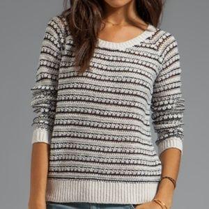 SALE Splendid Hudson Stitch Pullover Sweater